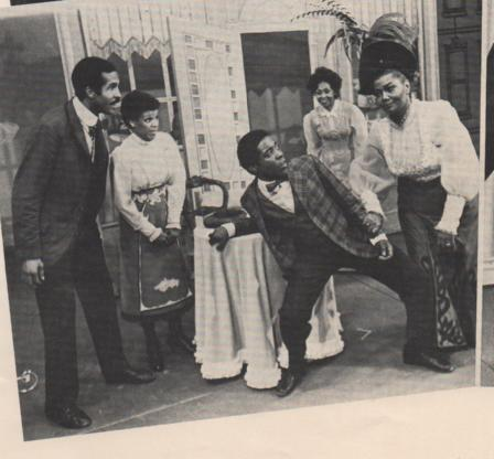 """Grenoldo with Pearl Baily in """"Hello Dolly"""""""